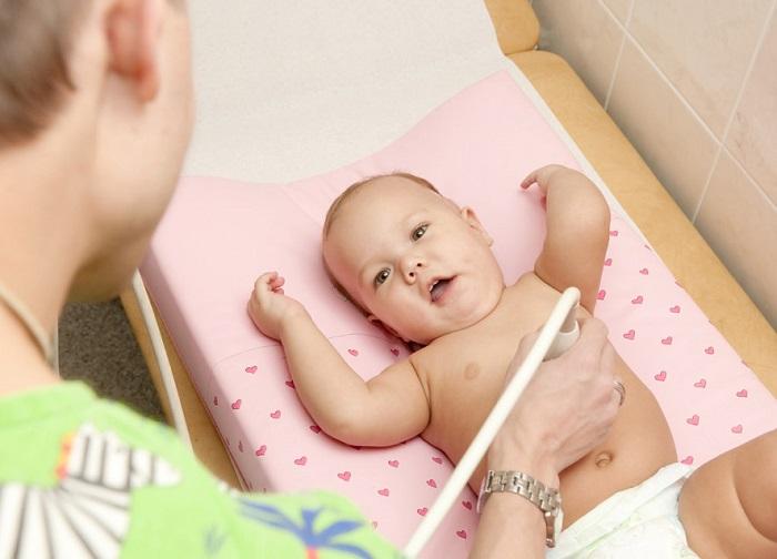 Узи печени у ребенка