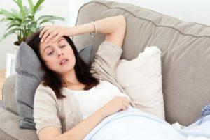 При гепатите В понижена работоспособность и быстро наступает утомляемость