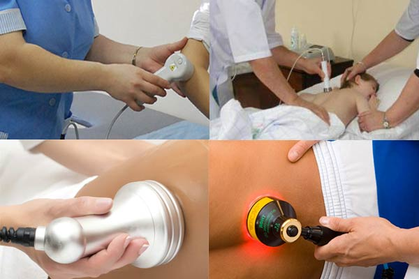 Аппараты для проведения лазеротерапии (они могут использоваться не только для лечения колен, но и вообще любого сегмента тела)