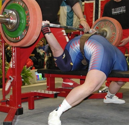 Спортсмены часто &quot,срывают&quot, спину