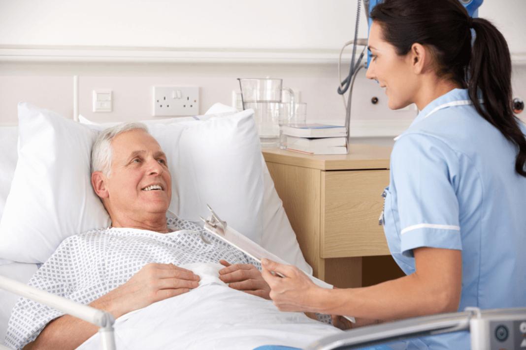 Медсестра и больной картинки