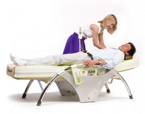 Положение пациента на кровати Нуга Бест