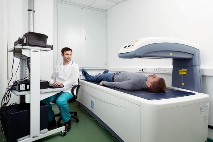 Проведение диагностики остеопении