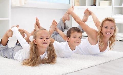 Гимнастика при детском сколиозе