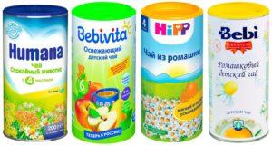 Как приготовить детский успокаивающий чай на ночь
