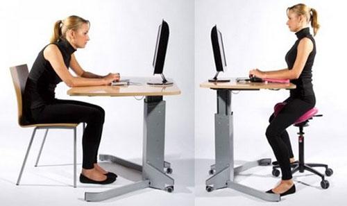 Стул-седло для компьютера