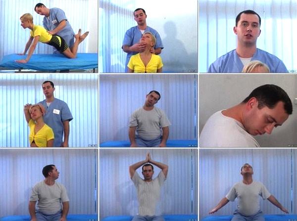 Комплекс упражнений для шеи Шишонина