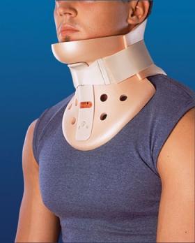 Бандаж для лечения подвывиха шейного позвонка