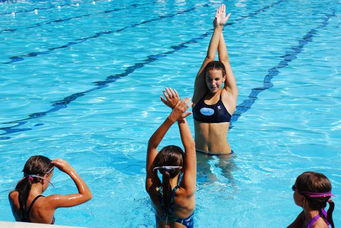 Плавание с тренером при сколиозе