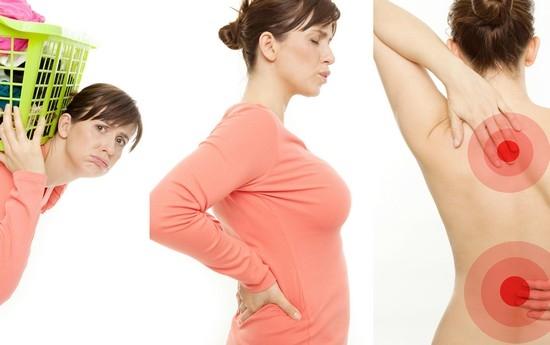 В реабилитационный период по поводу сорванной спины нельзя поднимать тяжести!