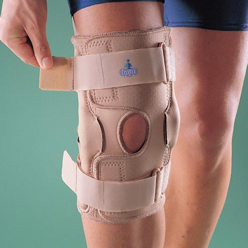 Иммобилизирующий ортез для коленного сустава (используется для предотвращения репозиции сустава)
